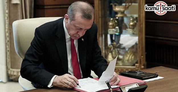 Cumhurbaşkanı Erdoğan'ın onayladığı 15 Kanun yayımlandı