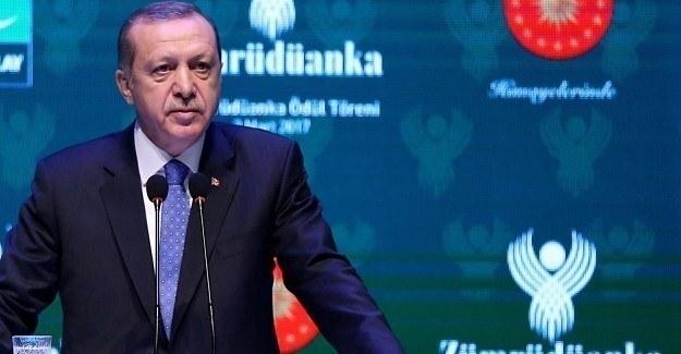 Erdoğan'dan Almanya'ya sert mesaj