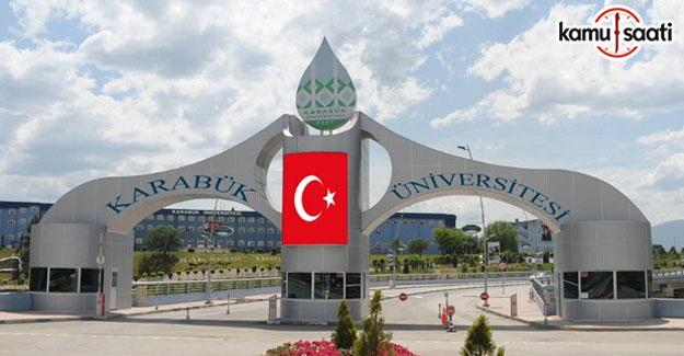 Karabük Üniversitesi Lisansüstü Eğitim ve Öğretim Yönetmeliği