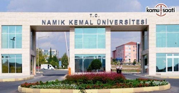 Namık Kemal Üniversitesi Lisansüstü Eğitim-Öğretim ve Sınav Yönetmeliği