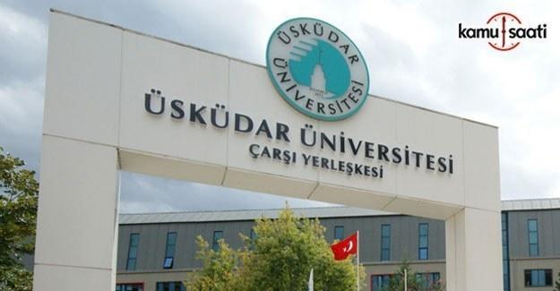 Üsküdar Üniversitesi Lisansüstü Eğitim-Öğretim ve Sınav Yönetmeliği