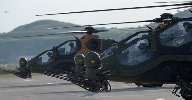 Yerli ATAK Helikopteri tüm testleri geçti
