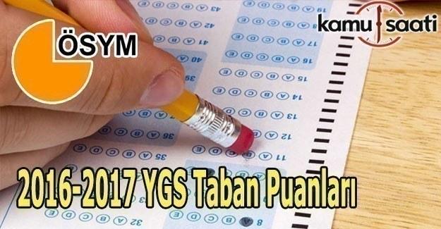 YGS puanı ile hangi bölümlere girilebilir? 2017 YGS tercih edilebilecek bölümler