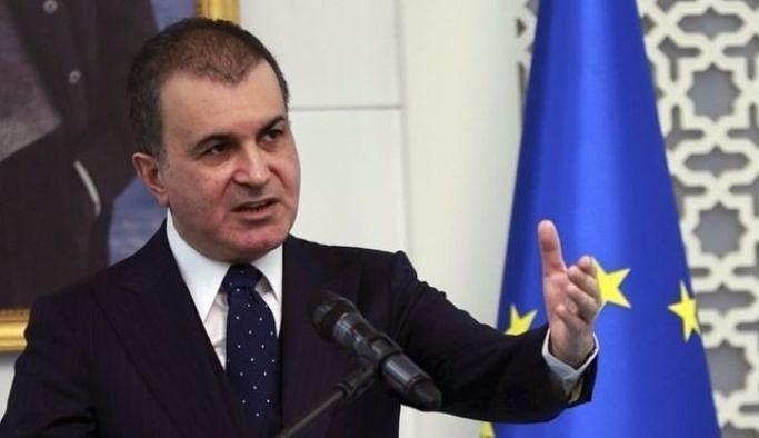 AB Bakanı Ömer Çelik'ten sert AKPM açıklaması