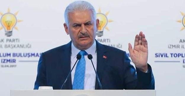 Başbakan'dan 'görevi bırakırım' resti