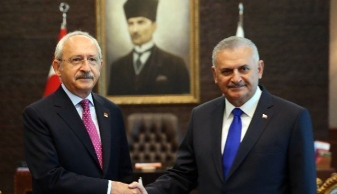Başbakan Yıldırım'dan Kılıçdaroğlu'na referandum çağrısı
