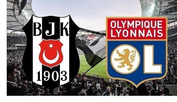 Beşiktaş-Lyon mücadelesinin ilk 11'leri belli oldu.