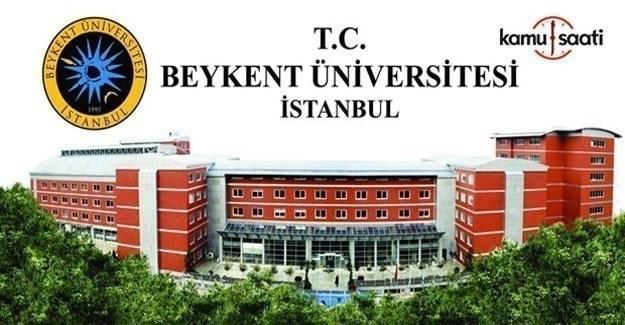 Beykent Üniversitesi Önlisans ve Lisans Eğitim-Öğretim Yönetmeliği