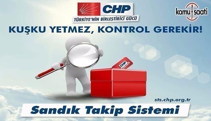 CHP'den Sandık Sorgulama ekranı- Hangi sandıktan ne oy çıktı