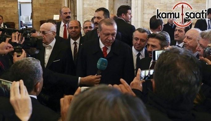 """Cumhurbaşkanı Erdoğan, """"Ben milletime çok teşekkür ediyorum"""""""