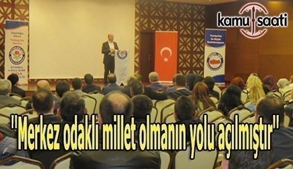 ''Erdoğan, Tanzimat ile alınan devleti tekrar millete döndürmüştür''