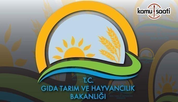 Gıda, Tarım ve Hayvancılık Bakanlığı Personel Yönetmeliğinde değişiklik