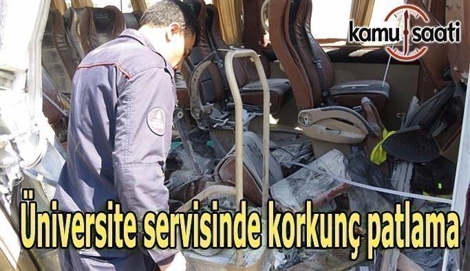 İstanbul'da servis aracında patlama: 7 öğrenci yaralı