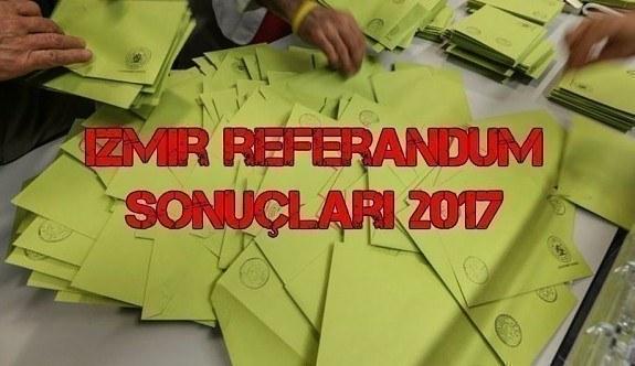 İzmir referandum sonuçları 2017 - Evet mi önde hayır mı