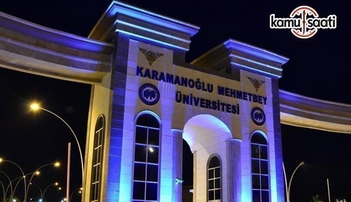 Karamanoğlu Mehmetbey Üniversitesi Lisansüstü Eğitim-Öğretim ve Sınav Yönetmeliğinde Değişiklik Yapıldı
