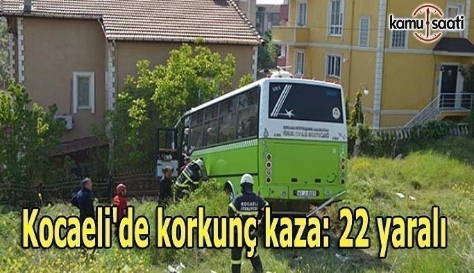Kocaeli'de korkunç kaza- 22 yaralı