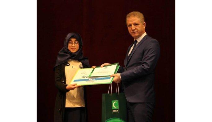 'Sağlıklı Nesil Sağlıklı Gelecek' yarışmasında ödüller sahiplerini buldu