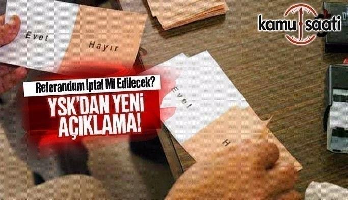 YSK halkoylamasının iptal başvurularını reddetti