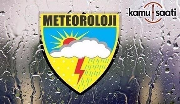 7 Nisan hava durumu- Meteorolojiden sağanak yağış uyarısı