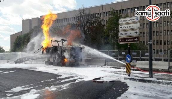 Ankara Adliyesi'nde patlama