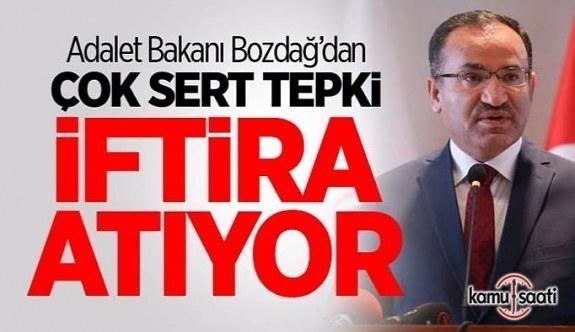 Bakan Bozdağ'dan Kılıçdaroğluna tepki: Hem suçlu hem güçlü