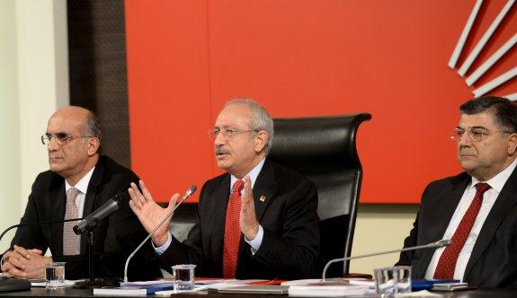 CHP Parti Meclisi Kılıçdaroğlu başkanlığında toplandı
