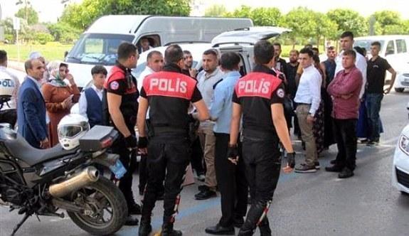 Düğün konvoyunda PKK gözaltısı