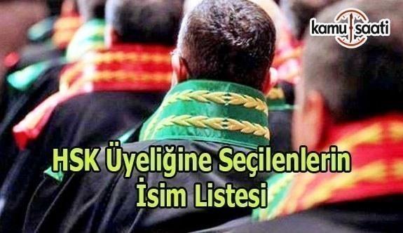 HSK Üyeliğine Seçilenler Resmi Gazete'de yayımlandı 24 Mayıs 2017