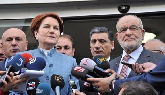 Meral Akşener'den Saadet Partisi'ne ziyaret