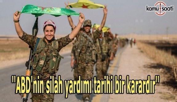 YPG sözcüsü: ABD'nin silah yardımı tarihi bir karardır