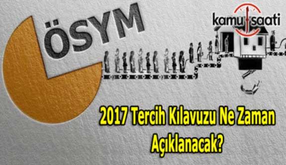 2017 ÖSYS YGS/LYS Tercih Kılavuzu ve Kontenjanları yayımlandı
