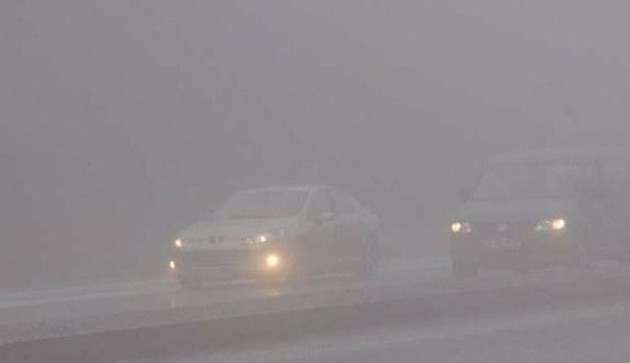 Aman dikkat! Bolu'da yoğun sis
