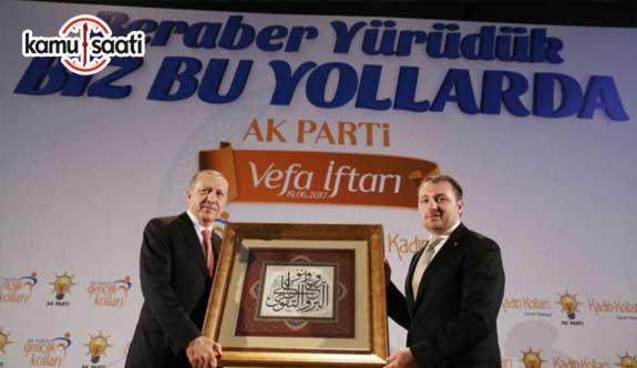Cumhurbaşkanı Erdoğan, AK Parti Gençlik Kolları Vefa İftarına katıldı