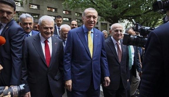 Erdoğan'ın meclisteki makam odası belli oldu