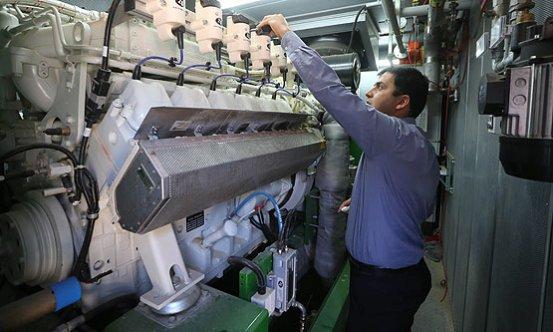 Filistin'de süt fabrikası elektrik üretiyor