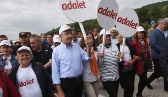 Kemal Kılıçdaroğlu, Adalet Yürüyüşüne Ramazan Bayramında da devam ediyor