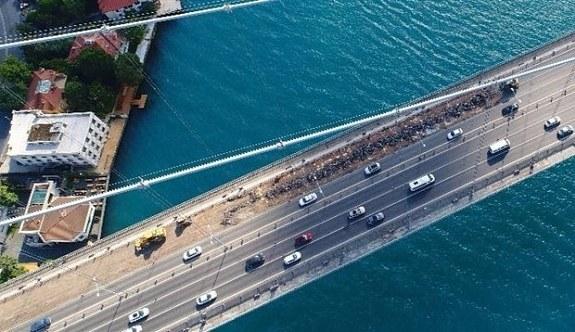 Ramazan Bayramı'nda 15 Temmuz Şehitler Köprüsü'nde yol çalışması yapılmayacak