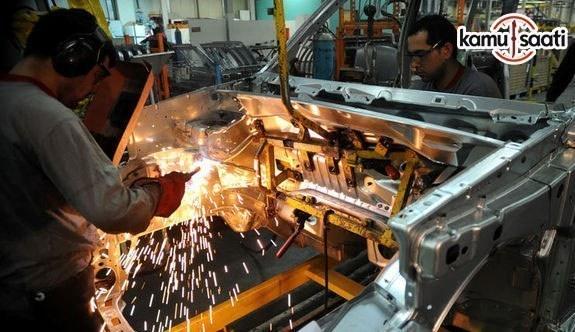 TÜİK verilerine göre sanayi üretimi arttı