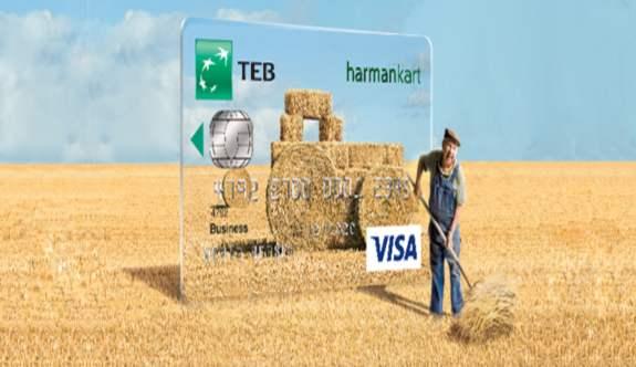 Çiftçiye müjde - TEB Harman Kart ile faizsiz dönem avantajı