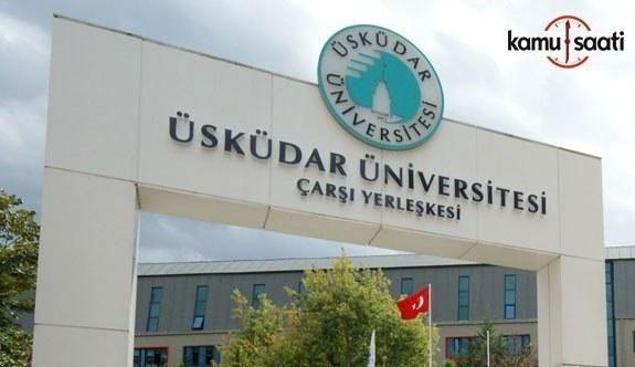 Üsküdar Üniversitesi İstanbul Protein Araştırma Geliştirme ve İnovasyon Uygulama ve Araştırma Merkezi (PROMER) Yönetmeliği