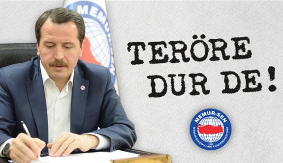 Ali Yalçın 'Teröre Dur De' bildirisini imzaladı