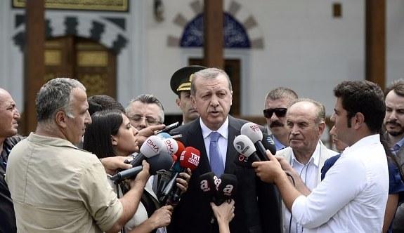 Cumhurbaşkanı Erdoğan'dan Almanya'daki Türk vatandaşlarına çağrı