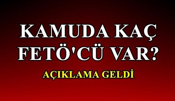 Kamuda kaç FETÖ'cü var? Cumhuriyet Başsavcı Vekili Demir açıkladı
