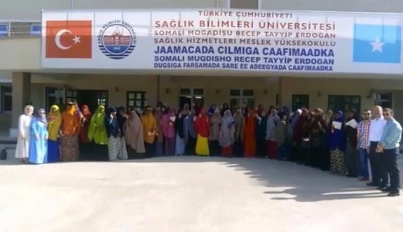Somalili öğrencilerden Cumhurbaşkanı Erdoğan'a kurban bayramı mesajı