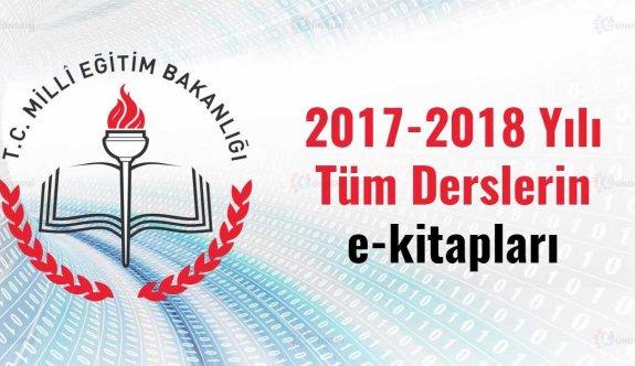2017-2018 Eğitim-Öğretim Yılı yeni müfredatlara uygun e-kitaplar yayınlandı