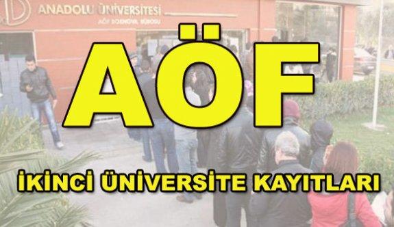 Anadolu Üniversitesi ikinci üniversite başvuruları için son gün 18 Eylül