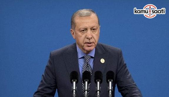 Cumhurbaşkanı Erdoğan: Bu referandum yapılmamalıdır