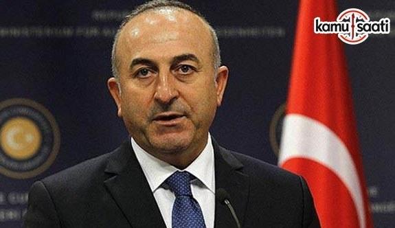 Dışişleri Bakanı Çavuşoğlu Arakanlı Müslümanlar için Bangladeş'e gidecek