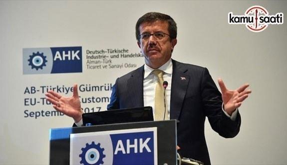 Ekonomi Bakanı Zeybekci: Türk şirketleri AB için büyük bir fırsattır