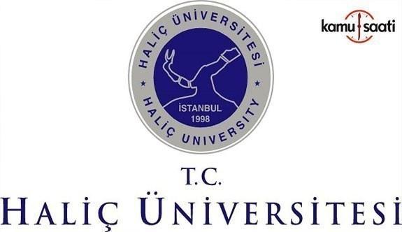 Haliç Üniversitesi'ne ait 2 yönetmelik Resmi Gazete'de yayımlandı